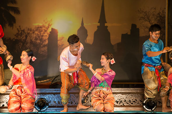 Thai Classical Themed Dance Show