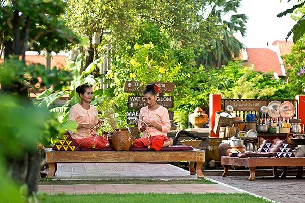 Thai Traditional Routine